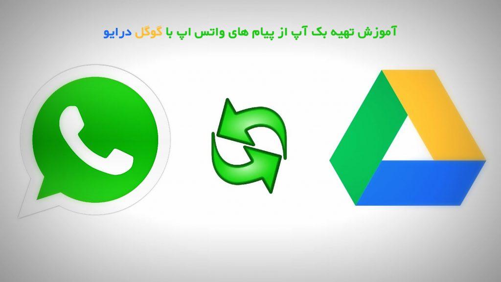 تهیه بک آپ از پیام های واتس اپ